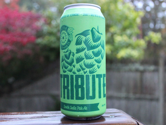 Tribute, a Double India Pale Ale brewed by 14th Star Brewing Company