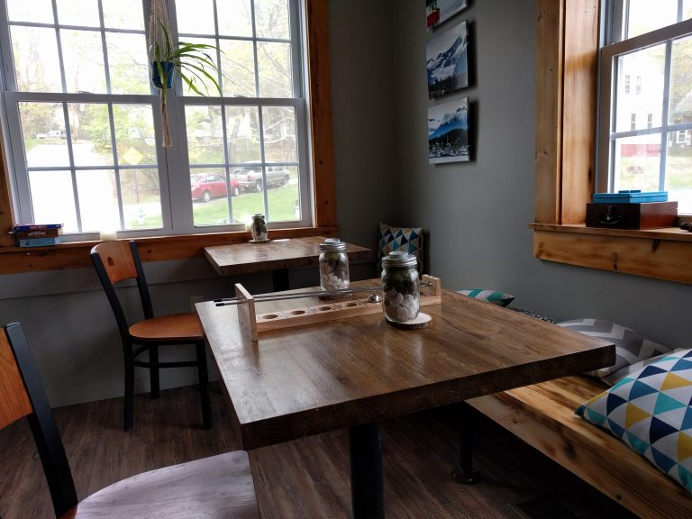 Burnt Timber Brewing dining area