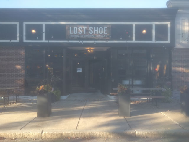 Lost Shoe Brewing and Roasting Company in Marlborough, MA